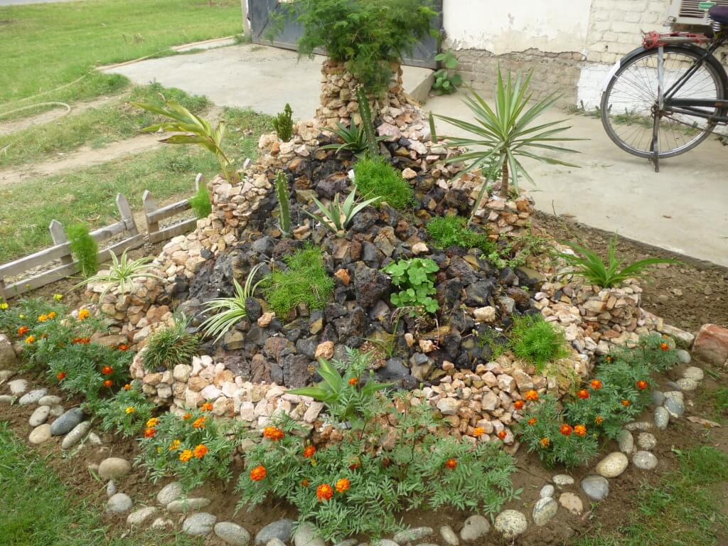 how to build a rockery in my garden