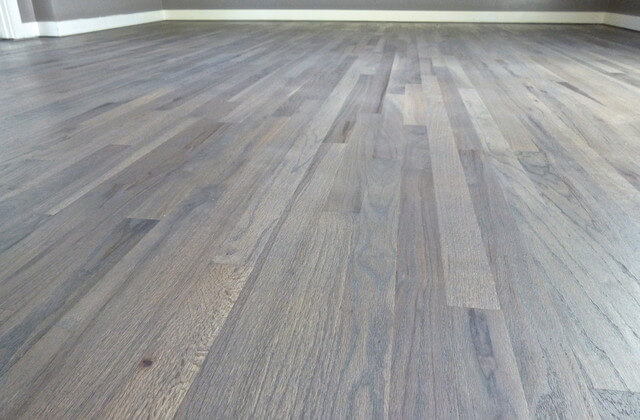 gray wood floor